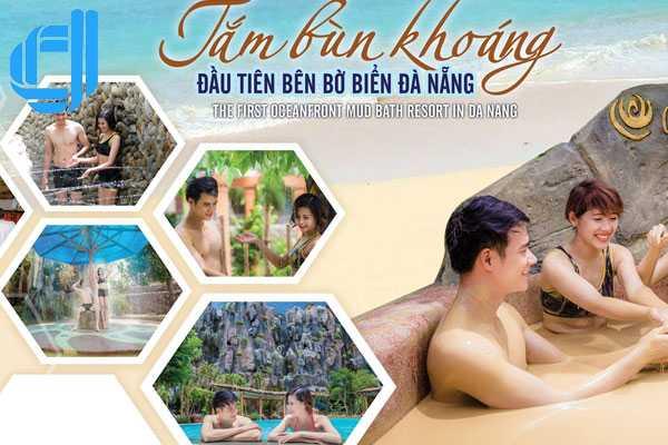 Tour tắm bùn Galina khoáng hiện đại nhất Đà Nẵng