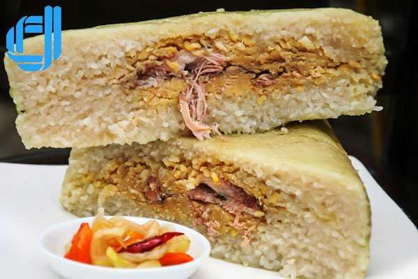 Bánh chưng Nhật Lệ - đặc sản ngày tết không thể thiếu xứ cố đô