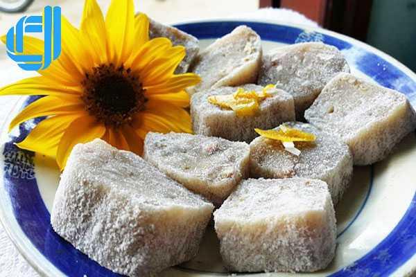 Bánh da - bánh tết của người Quảng