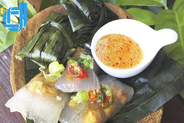 Bánh lọc bọc con tôm xứ Huế