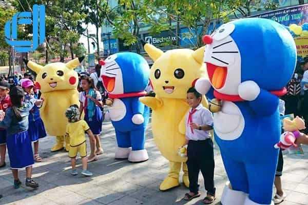 Cho thuê Mascot   Thú rối   Nhân vật hoạt hình tại Đà Nẵng giá rẻ