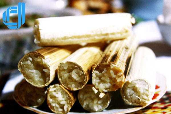 Cơm lam Bình Phước món ngon dân dã thu hút khách du lịch