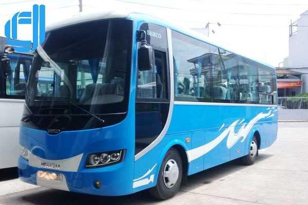 Cho thuê xe ô tô du lịch Đà Nẵng 35 chổ đời mới tài xế thân thiện
