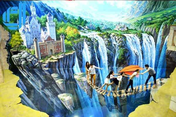Địa điểm giá vé vào bảo tàng tranh 3D du lịch sống ảo mới lạ ở Đà Nẵng