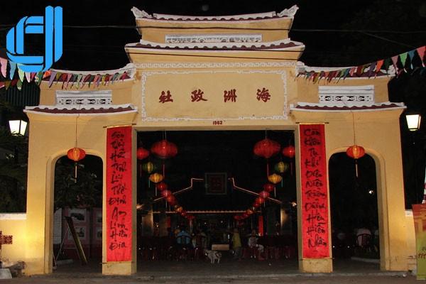 Đình làng Hải Châu - nốt lặng giữa lòng Đà Phố