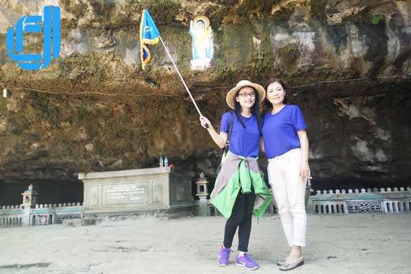 Đoàn lớp Luật K94-95 Đại học Đà Lạt tham quan tour đảo Lý Sơn - đảo Bé