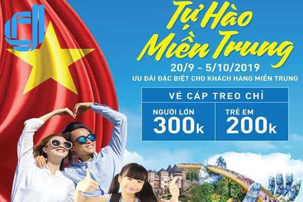 Giá Vé Du Lịch Bà Nà Đà Nẵng 300K Với Du Khách Miền Trung D2Tour