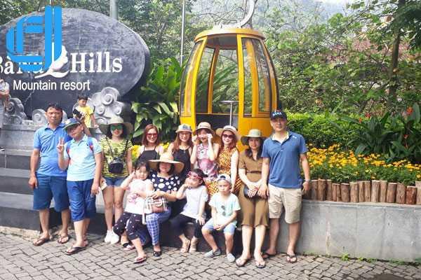 Ngân hàng Quốc dân chi nhánh Bà Triệu tham quan tour Bà Nà Hội An
