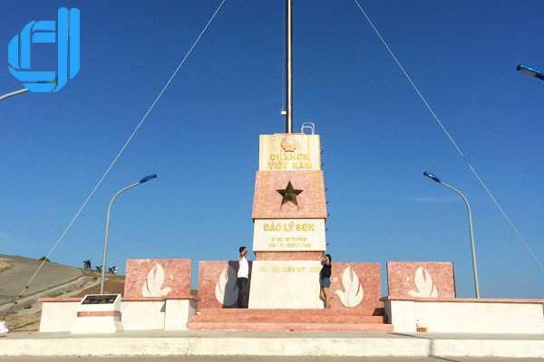 Tour du lịch Lý Sơn đón sân bay Chu Lai có đảo bé 2 ngày 1 đêm