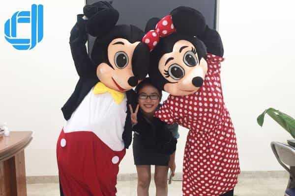 Cho thuê Mascot giá rẻ tại Đà Nẵng Công ty tổ chức sự kiện D2Media