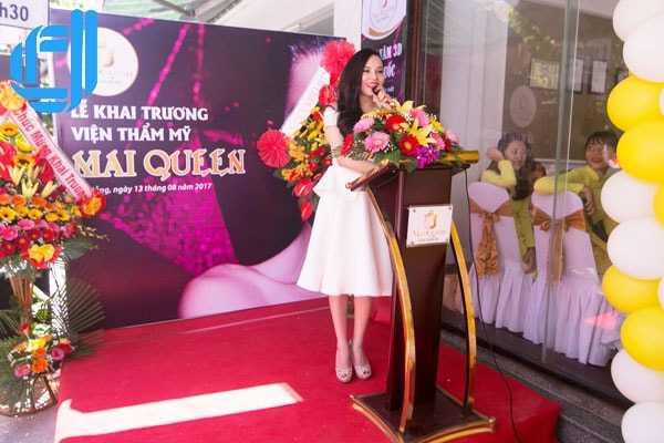 Dịch vụ tổ chức sự kiện khai trương viện thẩm mỹ Mai Queen Đà Nẵng